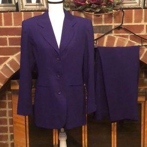 💼 Worthington fully lined pants suit size 10.